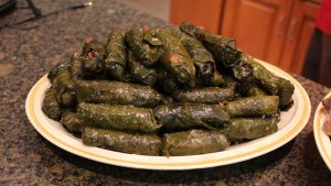 Stuffed Grape Leaves. Photo courtesy of Ray Hanania