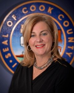 Former Cook County Commissioner and taxpayer advocate Liz Gorman