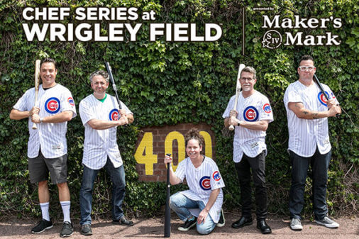 Chicago's Top Chefs Head to Wrigley Field