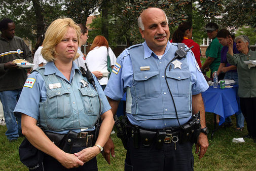 Chicago Police Officers, courtesy of Wikipedia