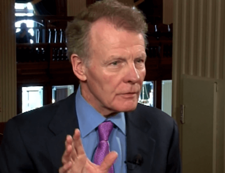 Illinois House Speaker Michael J. Madigan. Photo courtesy of Wikipedia