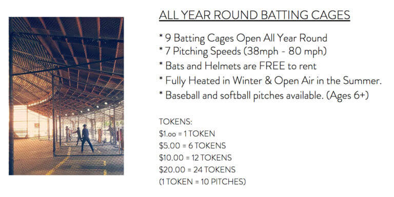 Stella's Batting Cages from their website www.stellasbattingcages.com