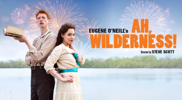 Ah, Wilderness poster promo. Courtesy of the Goodman Theater