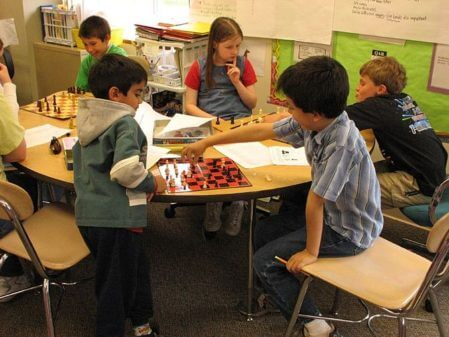 School Chess Club. (Photo credit: Wikipedia)