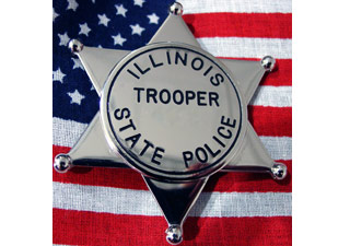 Illinois lowers flags to honor killed Trooper Chris Lambert