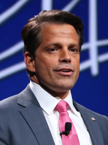 White House Communications Director Anthony Scaramucci. Photo courtesy of Wikipedia