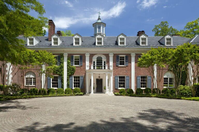 Jackie Kennedy's Childhood home, courtesy of Top Ten Real Estate Deals