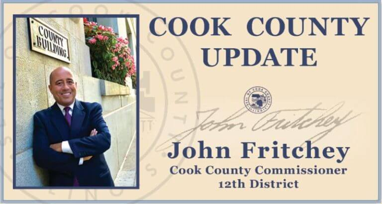 Cook County Commissioner John Fritchey logo