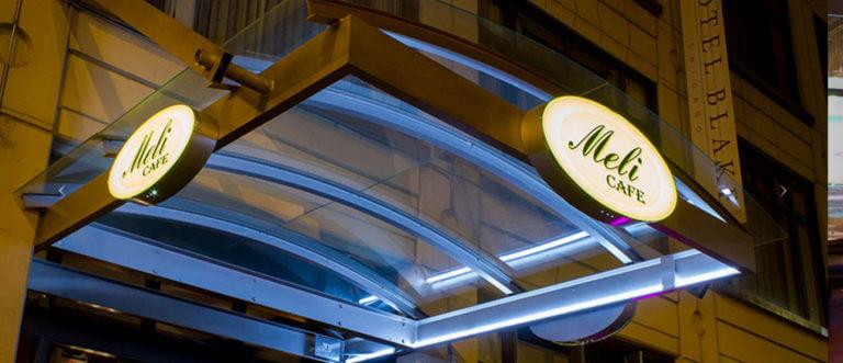 Meli Cafe at 500 S. Dearborn Street. Photo courtesy Ray Hanania