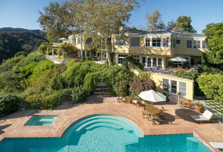 Norman Lear estate, courtesy of Top Ten Real estate Deals