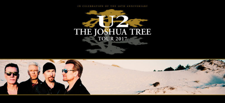 U2 The Joshua Tree Tour 2017 Biggest Tour Of The Year Surpasses 2.4 Million Tickets Sold (PRNewsfoto/Live Nation Entertainment)