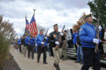 Orland Park Veterans commemorate Veterans Day. Photo courtesy of the Village of Orland Park