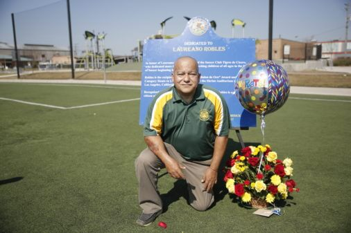 Cicero dedicates soccer field in honor of local coach