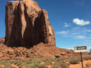 Cly Butte in Monument Valley. Photo courtesy of Ray Hanania