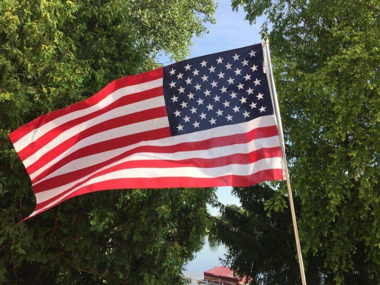 American Flag. Photo courtesy of Ray Hanania