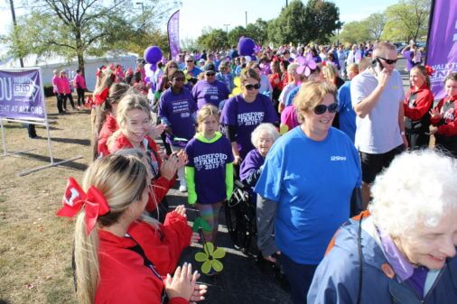 Supporters gather for 'Walk to End Alzheimer's'