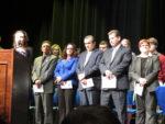 Video: Sandburg inducts National Honor Society students