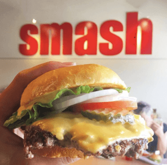 Smashburger is the ultimate best tasting burger ever