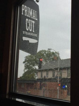 Sign for The Primal Cut Steakhouse. Photo courtesy of Ray Hanania