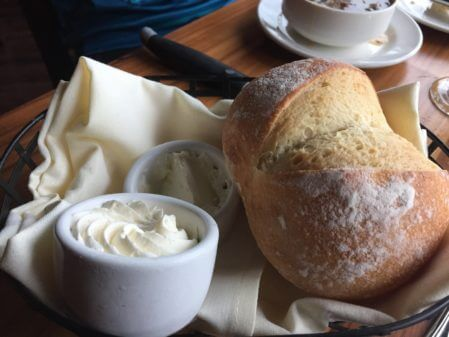 Bread and butter at The Primal Cut Steakhouse. Photo courtesy of Ray Hanania