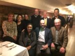Former Chicago City Hall reporters recently gathered to remember Mayor Harold Washington (11-21-17) from left (back) Avis LaVelle, Michelle Damico, Molly sullivan, Dan Parker, Manuel Galvan, Ray Hanania, and (front) Cheryl Corley, John Holden and Dave Roeder. Photo courtesy of Aaron Hanania