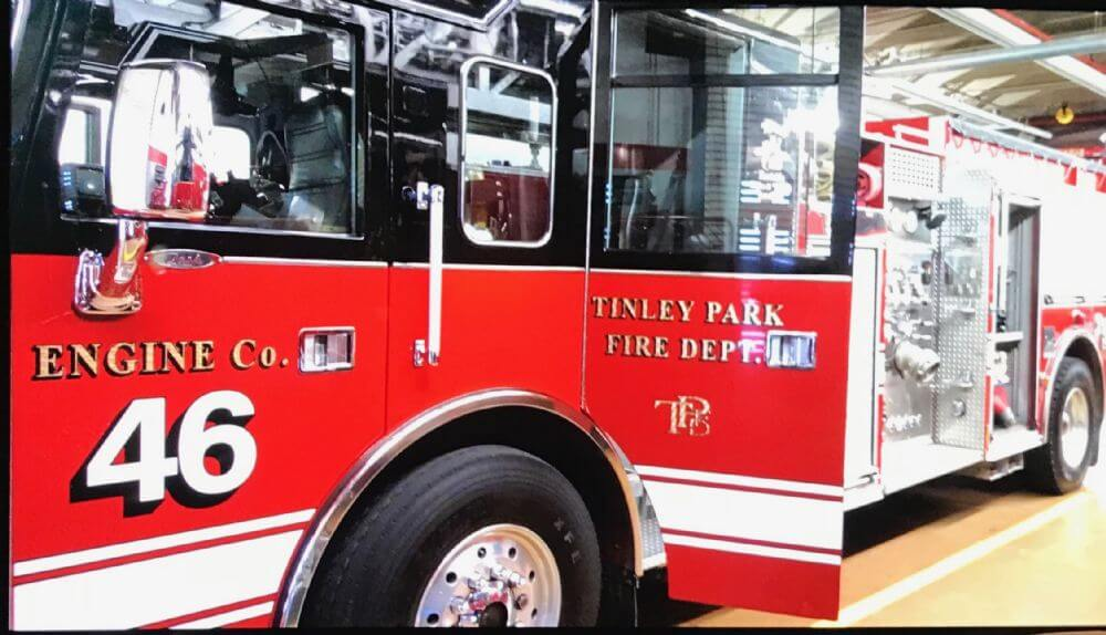 Summit has agreed to pay Tinley Park $35,000 for this 17-year-old fire engine. It will replace Summit's 31-year-old engine. (Supplied photo)