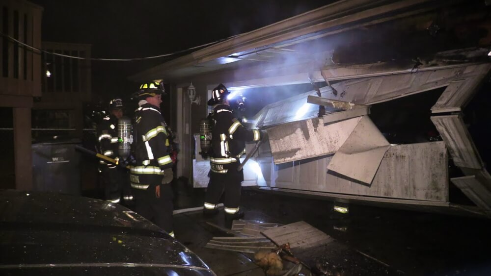 Two garage fires in Orland Park