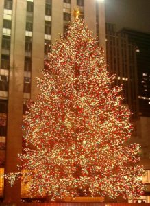 Christmas Tree at Rockefeller Center in New York City (Photo credit: Wikipedia)