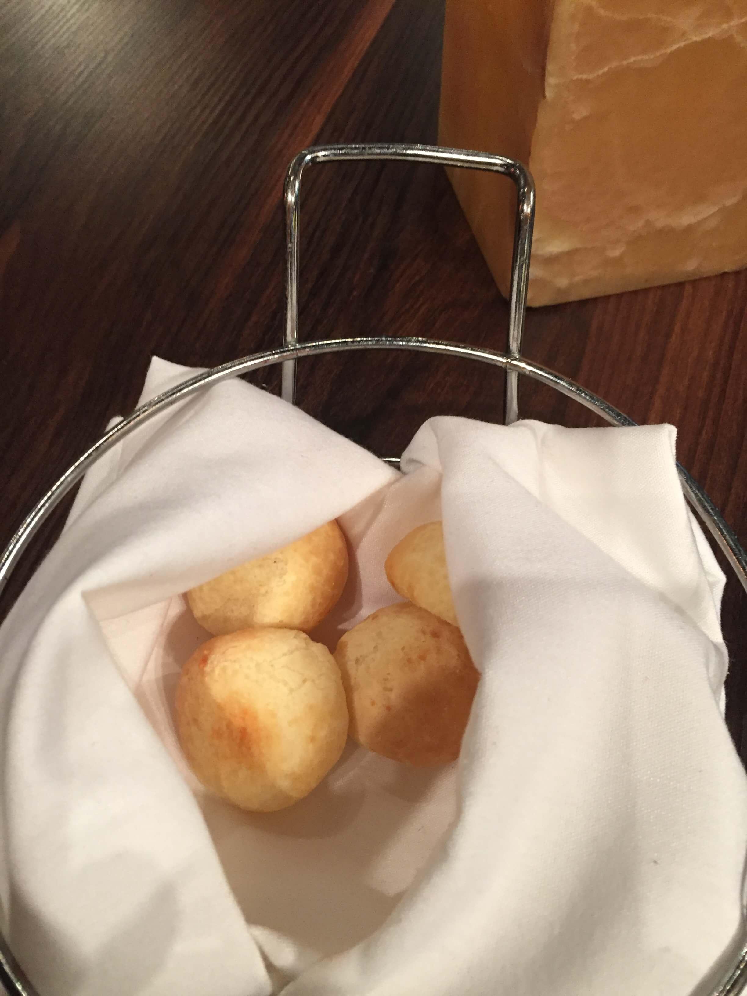 Texas de Brazil rest Woodfield Mall serves the best bread rolls