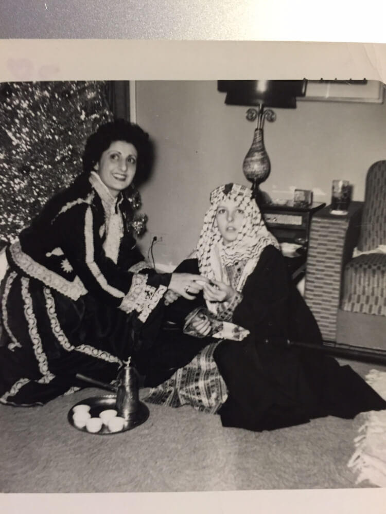 A typical Arab Christmas. Photo courtesy of Ray Hanania
