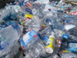 Plastic bottles in the back of a pickup truck, ready for recycling (Photo credit: Wikipedia) Oftentimes instead of being recycled, they end up in our environment, including in the ocean where they collect and form huge masses of pollutants