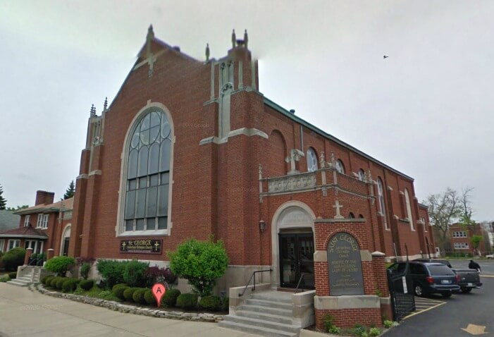 St. George Church in Cicero, Illinois. Photo courtesy of St. George Church