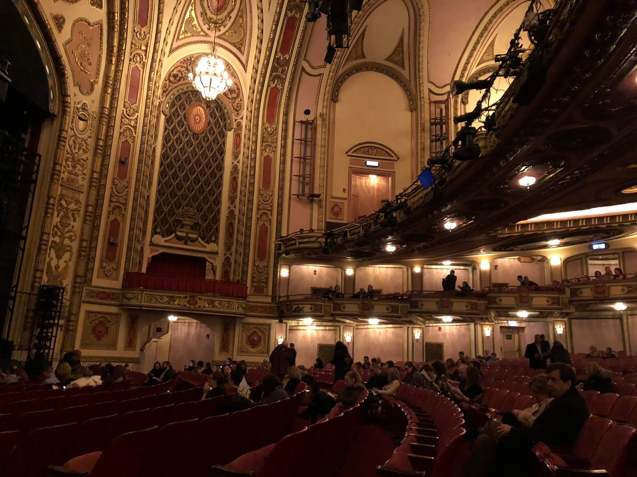 Inside the Cadillac Theater
