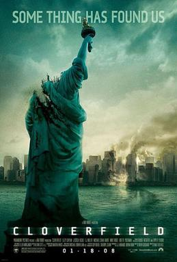 Cloverfield movie poster. Courtesy of WIkipedia