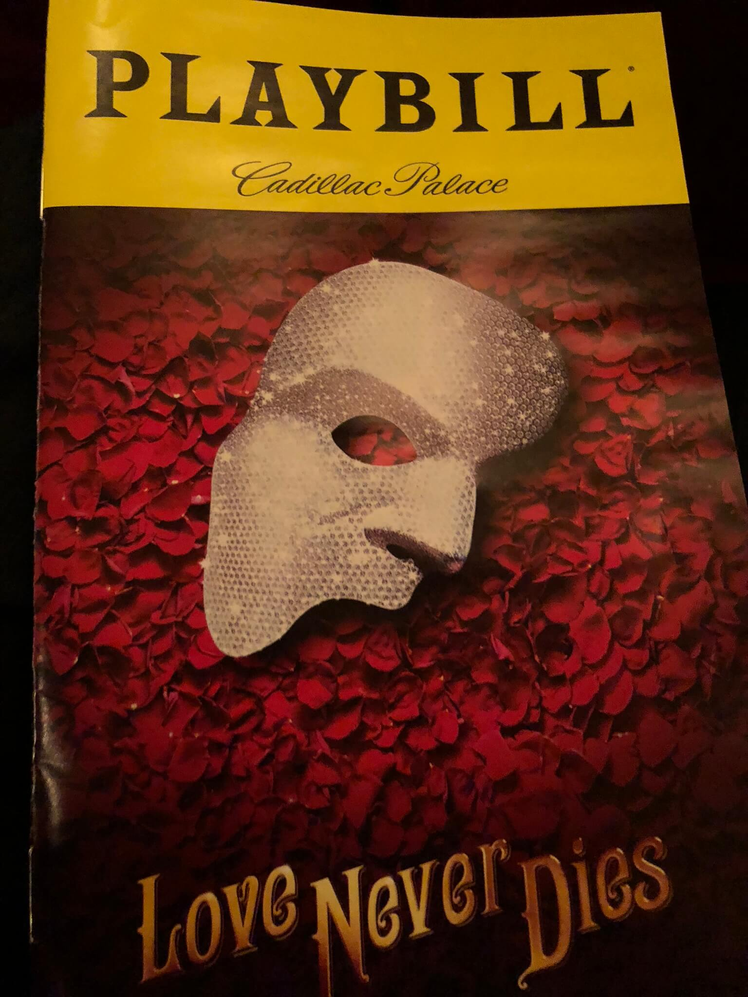 Love Never Dies continues Phantom of the Opera tale