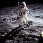 Buzz Aldrin walks on the moon, July 20, 1969 (Photo credit: Wikipedia) Was it staged using sophisticated video technology or real?