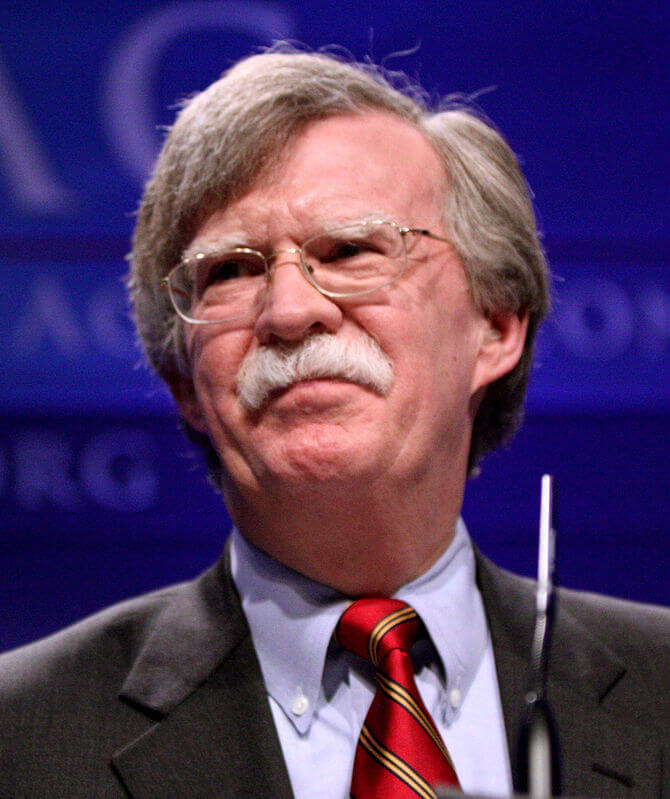 Group slams appointment of Bolton as National Security Advisor