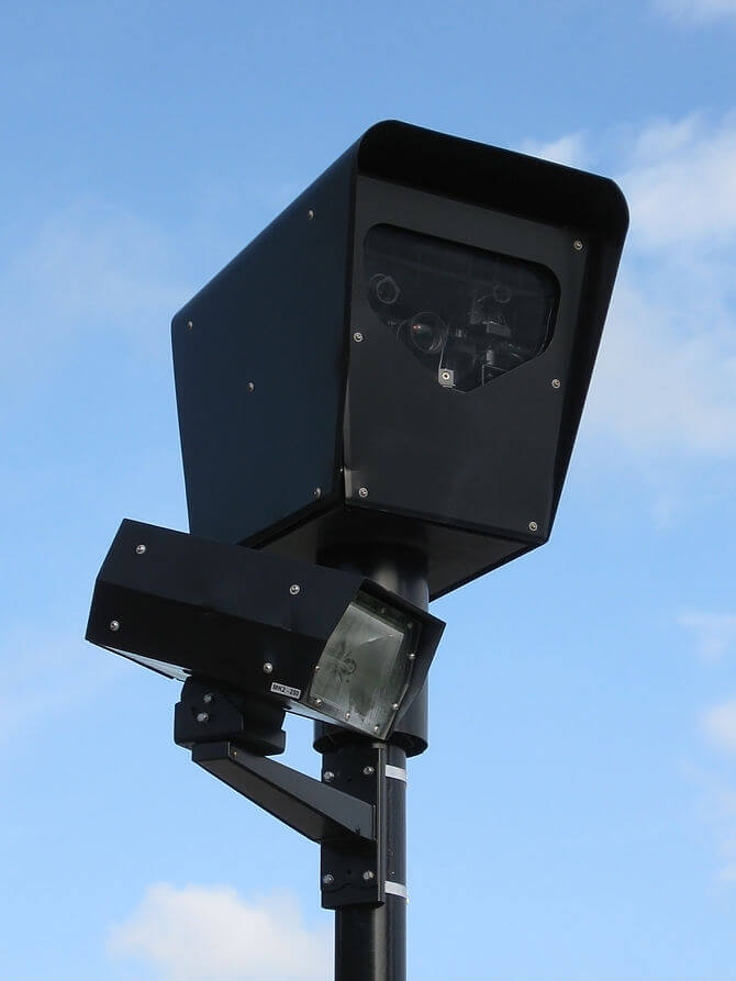 A red light camera (Photo credit: Wikipedia)