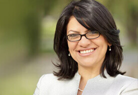 Arab Radio: Journalists explore  Rashida Tlaib's real Middle East views @ WNZK AM 690 Detroit, Michigan