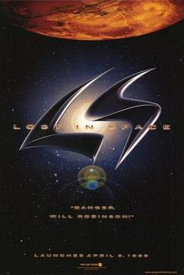 The movie poster from the 1998 release of Lost in Space, courtesy of Wikipedia