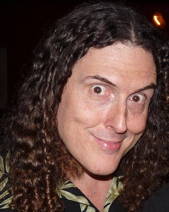 "Scaled-down works for ""Weird Al"""