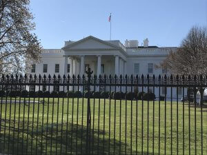 The White House. Photo courtesy of Ray Hanania