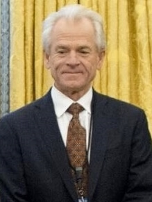 White House National Trade Council Director Peter Navarro in Orval Office January 2017