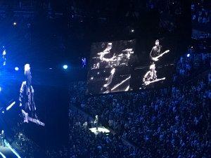 U2 rocks and preaches