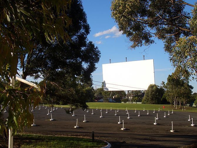 Bass Hill Drive-In Cinema