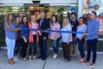 Mayor Keith Pekau of Orland Park joins officials and employees at Old Navy, which was damaged by fire last April, in reopening on Friday May 25, 2018. Photo courtesy of Old Navy