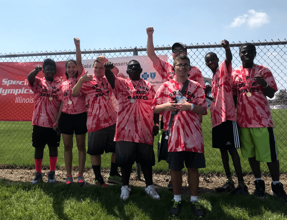Bremen High School Dist. 228 Students Take Gold at Illinois Special Olympics