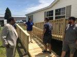 UAW volunteers help Sauk Village President overcome barriers
