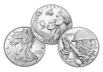 Produced and sold for collectors, silver coins produced by the U.S. Mint are beautiful pieces of art in fine silver. Coins are produced in proof and uncirculated finishes in a variety of options.