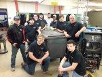 Bremen High School welding class, courtesy of Bremen High school